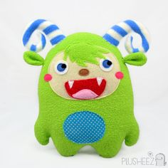 laughing monster plush toy
