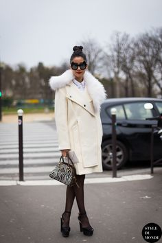 c97199df582 Haute Couture SS 2014 Street Style  Denni Elias of Chicmuse