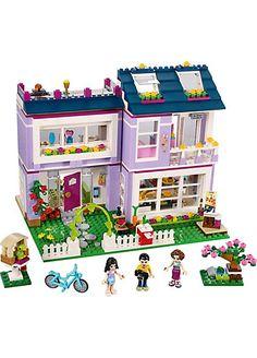 LEGO 41095 Friends: Emmas Familienhaus