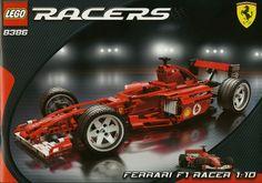 LEGO 8386-1: Ferrari F1 Racer