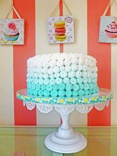 Decorare una torta con effetto degradè: free tutorial