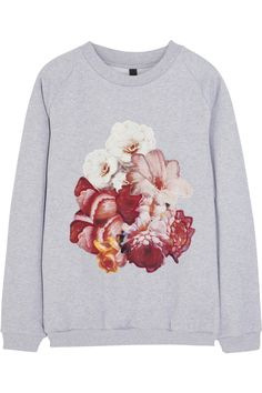 Mother of Pearl|+ Jim Lambie appliquéd cotton-jersey sweatshirt|NET-A-PORTER.COM