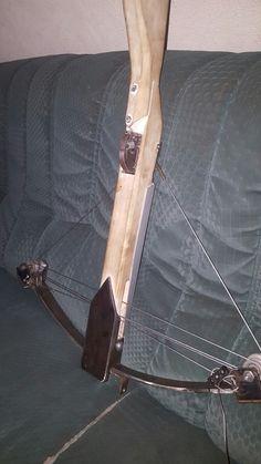 Diy Crossbow / armbrust with leafspring /plattfeder