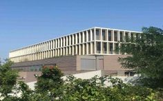 Cibetec fabrique 112 brises-soleil pour le Lycée international de lEst Parisien