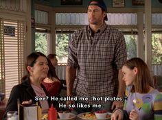 """17 Definitive Reasons Luke And Lorelai Deserved A Better Ending On """"Gilmore Girls"""" Tv Quotes, Girl Quotes, Movie Quotes, Funny Quotes, It's Funny, Funny Memes, Hilarious, Luke And Lorelai, Lorelai Gilmore"""