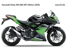 "Kawasaki Ninja 300 ABS ""KRT Edition"" (2016)"