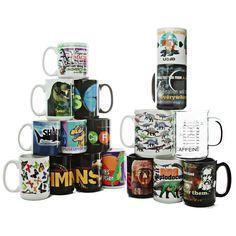 mugs, mugs, and more mugs