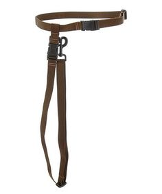Take a look at this Brown Hands-Free Leash by Max & Zoey on #zulily today!