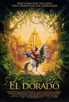 Road to el dorado watch online. The animation is beautiful, the plot is very simple. The road to el dorado 2000 cast and crew credits, including actors, actresses. Dreamworks Movies, Dreamworks Animation, Cartoon Movies, Animation Movies, Disney Pixar, Disney And Dreamworks, Disney Movies, Film Disney, Music