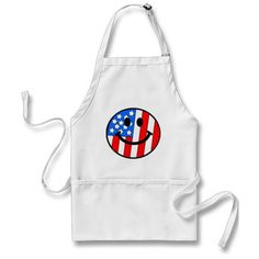 4th of July Smiley Aprons.  $21.95