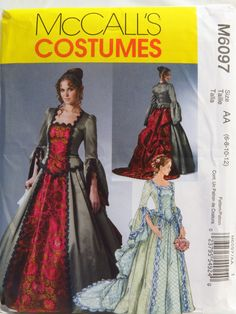 McCall's 6097 Misses' Victorian Costume