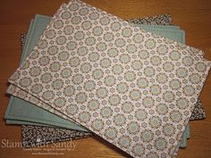 Easy to make place mats