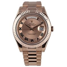 Rolex Day-Date II 41 President Everose Gold Watch 218235 ... https://www.amazon.com/dp/B00UNUAF9I/ref=cm_sw_r_pi_dp_VaKExbSGJPPXF