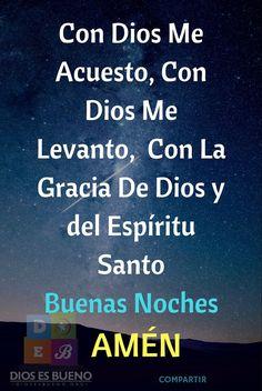 🦅 best memes about memes Night Prayer Catholic, Catholic Prayers In Spanish, Good Night Prayer, Good Night Blessings, God Prayer, Prayer Quotes, Faith Quotes, Prayer Before Sleep, Good Night In Spanish