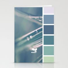 { color dew } Stationery Cards
