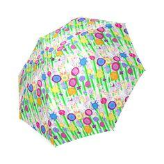 Pretty Summer Meadow Flowers Foldable Umbrella