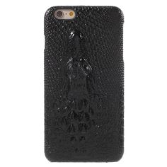 Cover for iPhone 6 s Plus 5.5-inch Hard Case 3D Crocodile Head Leather Skin PC Case for iPhone 6s Plus / 6 Plus Bag- Hot Selling