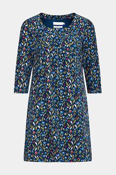 ex Seasalt Ships Print Pockets Sweatshirt Tunic Dress
