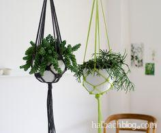 Wer hätte das gedacht? Makramee-Blumenampeln erleben gerade eine kleine Renaissance. Mithilfe der DIY-Anleitung hängt auch bei euch das Grün ganz lässig ab.
