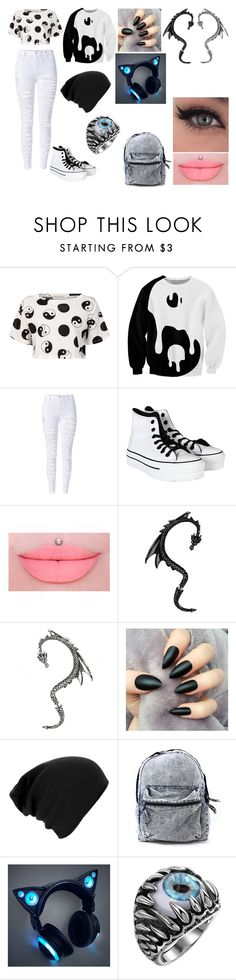 """""""Untitled #26"""" by erementaruartist on Polyvore featuring Être Cécile and Converse"""