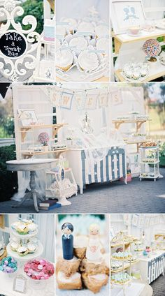 Cupcakes | Sweets Table | Bride and Groom | DIY | Artistic | Wedding | B. Wright Photo
