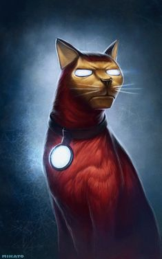 Kyle sure loves her wealthy playboys… Iron Cat and Batcat, by Ivan Mikato. Marvel Comics Superheroes, Loki Marvel, Marvel Films, Marvel Funny, Funny Cat Jokes, Panther Cat, Gato Animal, Creepy Cat, Iron Man Avengers