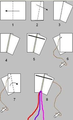 papírový drak návod