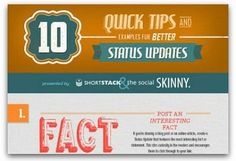 10 quick tips for better status updates