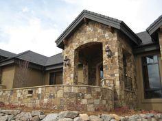 Sebastian Natural Stone Veneer. Natural Stone Veneer, Natural Stones, Masonry Veneer, Natural Materials, Porch, Patio, Balcony, Natural Stone Cladding, Sunrooms