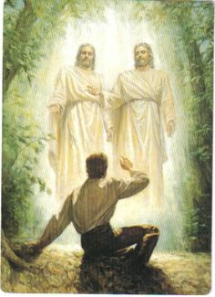 I belong to The Church of Jesus Christ-This is Joseph Smith First Vision..Joseph prayed and his prayers were answers :-)