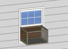 Petite window Catio Designs