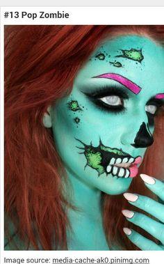The pop zombie