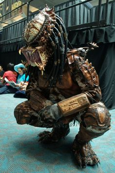 predator - the comic con 2012 cosplay gallery