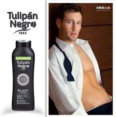 El favorito de nuestros hombres es Black Ginseng Special Edition: un gel de baño y ducha de lujo, con un perfume esencial que estimula y cuida la piel de una forma única. Entra en nuestra tienda online y ¡quédate con la boca abierta! Www.tulipannegro.es #TulipanNegro #formen #men #Hombre #cuidado #care #gel #higiene #Almeria