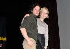 Kit Harington Photos Photos - Kit Harington and Adelaide Clemens attend the 2012 New York Comic Con at the Javits Center on October 12, 2012 in New York City. - 2012 New York Comic Con - Day 2
