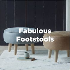 Snuggly footstools. Comfy underfoot. And not bad on the eye. Room Ideas, Comfy, Eye, Cool Stuff, Living Room, Handmade, Home Decor, Hand Made, Decoration Home
