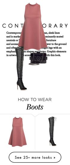 """""""Untitled #724"""" by marjanne-mestilainen on Polyvore featuring Gianvito Rossi and Chanel"""