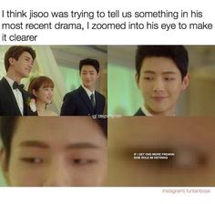 *scofffff* for real though, where his male lead role at? He's a shockingly good actor considering he hasn't done a lead role. and he's not even a fave of mine. Korean Drama Funny, Korean Drama Quotes, Strong Girls, Strong Women, Web Drama, Drama Drama, Ji Soo Actor, Strong Woman Do Bong Soon, Moorim School