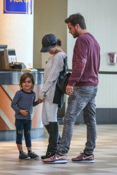 Celeb Diary: Kourtney Kardashian, Scott Disick and Mason going to the movies in Los Angeles