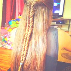 Forever long fishtail <3