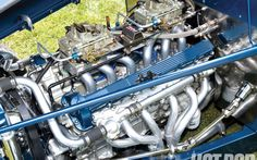 Jag with tunnel ram induction in a Ford Model A Rat Rods, Jaguar V12, Jaguar Cars, 1932 Ford Roadster, Car Buying Guide, V12 Engine, Classic Motors, Classic Cars, Performance Engines