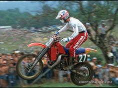 Old school motocross