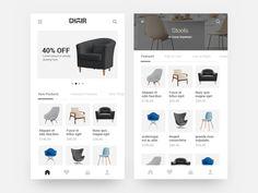 Chair Shopping App by Srinivasan Rajan