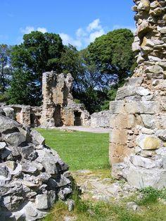 South Gate at Spynie Castle, Scotland