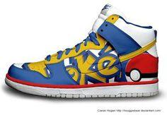 Pokemon Nikes Anime Custom Nike Dunks