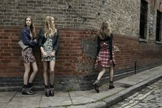 I want all of the ZARA TRF floral dresses from the new AW collection AND the fishnet tights.