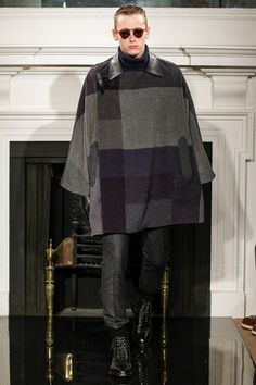 Hardy Amies A/W 2013-14 #cape #coat #LondonCollections