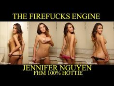 JENNIFER NGUYEN @ FHM 100% HOTTIE (with FULL STEREO CLUB MUSIC)