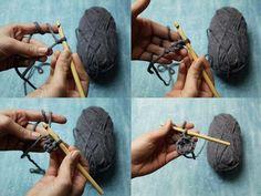 Tutoriel DIY: Réaliser un casque de chevalier au crochet via DaWanda.com