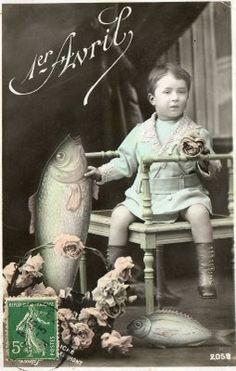 Happy vintage April Fool's Day! #vintage #April_Fools_Day #fish